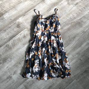 Old navy fall floral sundress 🍂